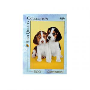 500 Parça Puzzle : Nice Beagles
