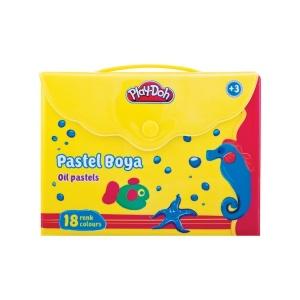 Play  Doh Çantalı Pastel Boya 18 Renk