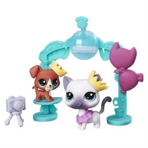 Littlest Pet Shop Miniş Mini Oyun Seti (School Dance Smiles)