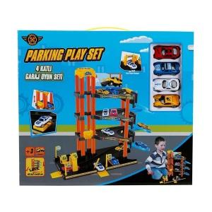4 Katlı Garaj Oyun Seti