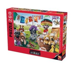 260 Parça Puzzle : Eğlenceli Köpekler