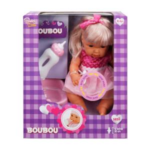 Boubou Altını Islatan Sesli Bebek Seti