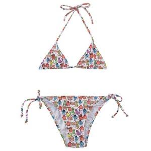 Slipstop Kız Çocuk Funny Cats Bikini
