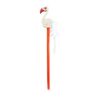 Flamingo Silgi Başlıklı Kurşun Kalem