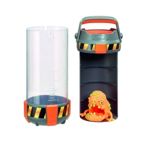 Fungus Amungus Toxic Taşıma Kabı ve Figür(Turuncu)