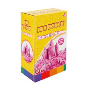 Fun Dough Kinetik Kum 500 gr. Pembe