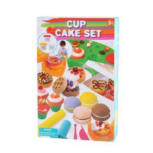 Cup Cake Yapımı Oyun Hamur Seti