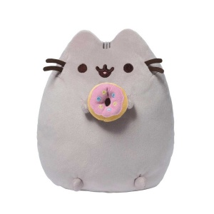 Pusheen With Donut Peluş