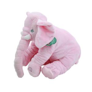 Uyku Arkadaşım Jumbo Pembe Peluş Fil 40 cm.