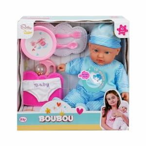 Boubou Bebeğimle Mama Zamanı