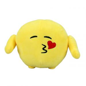 Emoji Öpücük Atan Peluş 18 cm.