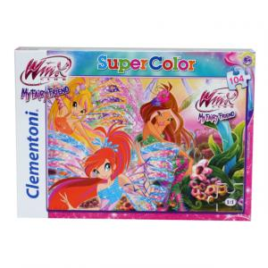 104 Parça Puzzle : Winx Forever And Ever