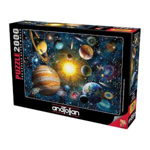 2000 Parça Puzzle : Güneş Sistemi