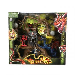 Dragon Canavar Ağaç Saldırısı Oyun Seti
