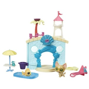 Littlest Pet Shop Miniş Oyun Setleri (Splash Park Party)