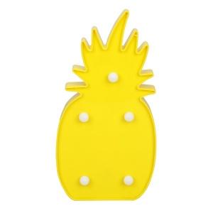 Dekoratif Işıklı Ananas