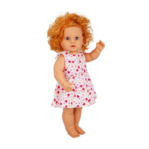 Boubou Türkçe Konuşan Elbiseli Bebeğim 60 cm.