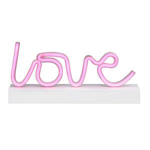 Dekoratif Neon Işıklı Love