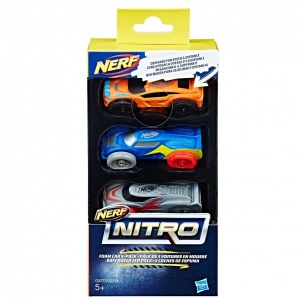 Nerf Nitro Araba 3'lü Yedek Paket C0774