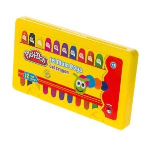 Play Doh Pastel Boya Jel Crayon 12 Renk