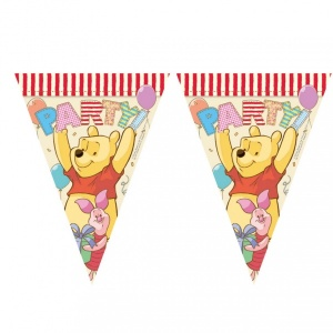 Winnie The Pooh 11'li Üçgen Bayrak