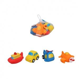 4'lü Banyo Oyuncağı Araçlar
