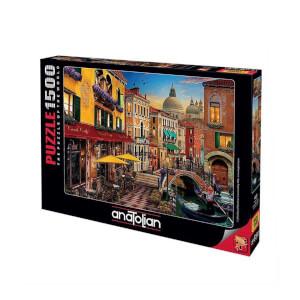 1500 Parça Puzzle : Kanal Cafe