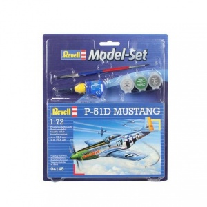 Revell 1:72 P-51D Mustang Model Set Uçak