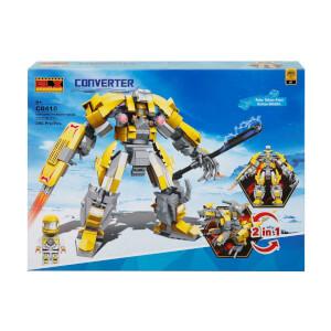 Yapım Seti: Dönüşebilen Robot 2 in 1 Serisi C0410