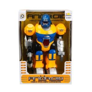 Sesli ve Işıklı Robot 27 cm.