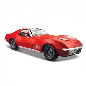 1:24 Maisto Chevrolet Corvette 1970 Model Araba