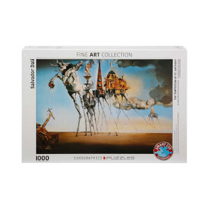 1000 Parça Puzzle : The Temptation Of St. Anthony - Salvador Dalí
