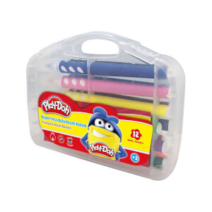 Play Doh Üçgen Keçeli Boya Kalemi 12 Renk