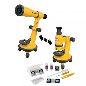 Teleskop ve Mikroskop Gözlem Seti 2'si 1 Arada