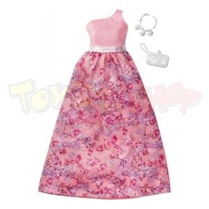 Barbie'nin Şık Kıyafetleri (Pembe Kemerli Elbise)