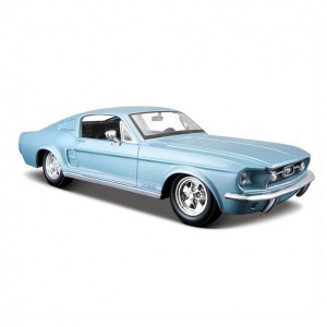 1:24 Maisto Ford Mustang 1967 Model Araba