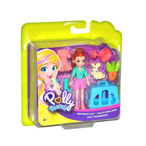 Polly Pocket ve Hayvan Dostu Oyun Seti GDM11