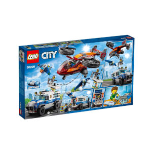 LEGO City Police Gökyüzü Polisi Elmas Soygunu 60209