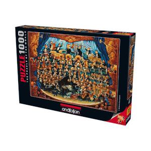 1000 Parça Puzzle : Orkestra