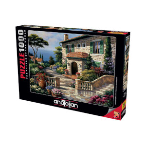 1000 Parça Puzzle : Villa Delle Fontana
