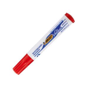 Bic Velleda Eco Yuvarlak Uçlu Kırmızı Tahta Kalemi