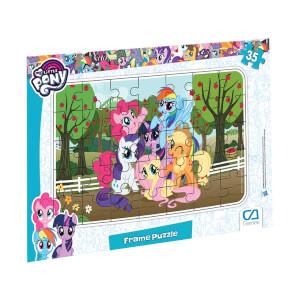 35 Parça Puzzle : My Little Pony