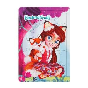 20 Parça Puzzle : Enchantimals Felicity Fox