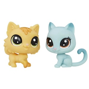 Littlest Pet Shop 2'li Mini Miniş (Kitty-Fluffy)