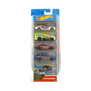 Hot  Wheels 5'li Araba Seti