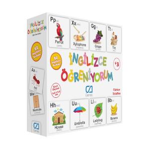Eğitici Oyun Kartları İngilizce Öğreniyorum