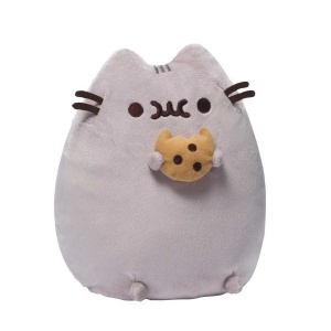 Pusheen With Cookie Peluş