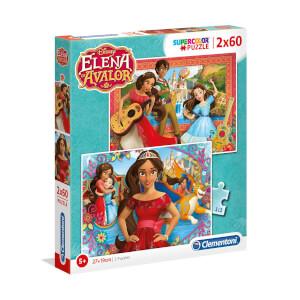 2 x 60 Parça Puzzle : Elena Avalor