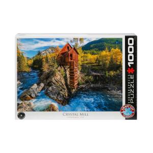 1000 Parça Puzzle : Crystal Mill