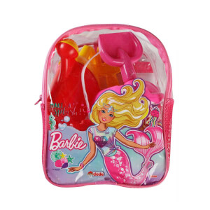 Barbie Sırt Çantalı Plaj Seti